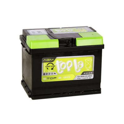 Аккумулятор Topla AGM 60Ah EN 680A R+