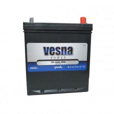 Vesna Power 45Ah EN 400A R+ Asia(ниж.креп.)