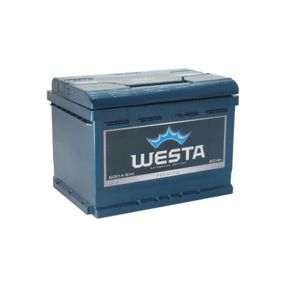 Аккумулятор Westa Premium 60Ah 600A L+(низк.)