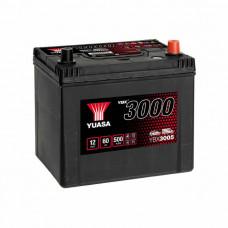 Yuasa YBX 3005 60Ah EN 500A R+ Asia