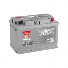 Yuasa YBX 5096 80Ah EN 740A R+ (размер 74)