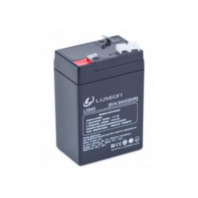 Аккумулятор Luxeon LX6-4.5 6V 4,5Ah Agm