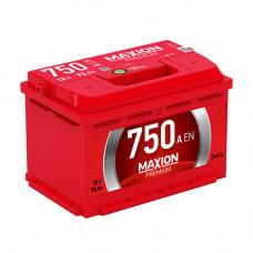 Maxion Premium 75Ah 750A R+