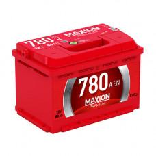 Maxion Premium 80Ah 780A R+(размер 75)