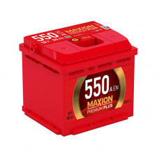 Maxion Premium Plus 55Ah 550A L+