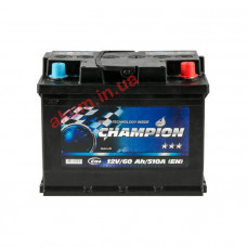 Champion Black 60Ah EN510A R+
