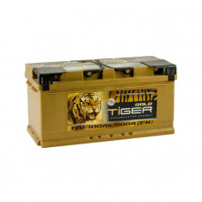 Tiger Gold 100Ah 900 A[EN] R+(низк.)