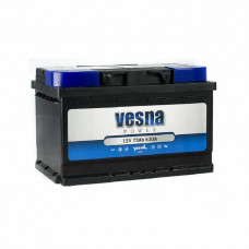 Vesna Power 73Ah EN 630A R+(низк.)