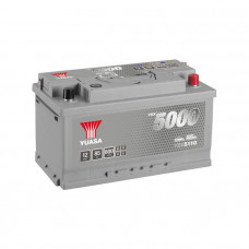 Yuasa YBX 5110 85Ah EN 800A R+(низк.)