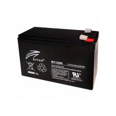 Ritar Agm RT1290B, Black 12V 9.0Ah Q10