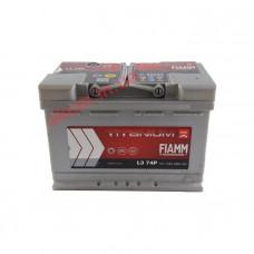 Fiamm Titanium Pro 74Ah EN 680A L374P R+