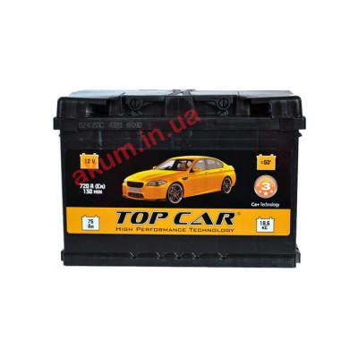 Аккумулятор Top Car Profi 74Ah EN 720A L+
