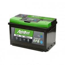 Autopart Galaxy EFB 70Ah 650A[EN] R+(низк.)