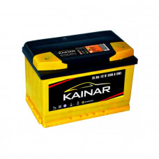 Kainar Standart+ 75Ah EN 690A L+