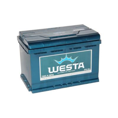 Аккумулятор Westa Premium 74Ah 720A R+