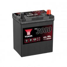Yuasa YBX 3054 36Ah EN 330A R+ Asia