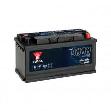 Yuasa YBX 9019 AGM Start Stop 95Ah EN 850A R+