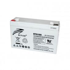 Ritar Agm RT6100, Gray 6V 10Ah Q20