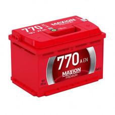 Maxion Premium 77Ah 770A R+