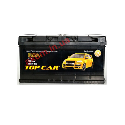 Аккумулятор Top Car Profi 100Ah EN 850A R+