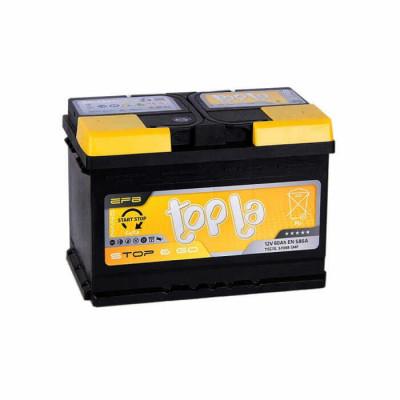 Аккумулятор Topla Top EFB 60Ah EN 580A R+ (Start-Stop)