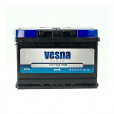Vesna Power 77Ah EN 760A R+
