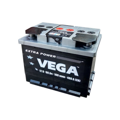 Аккумулятор Mega Batt/Vega/Uno 60 Ah EN 480A L+
