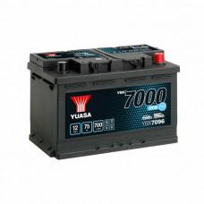 Yuasa YBX 7096 EFB Start Stop 75Ah EN 700A R+