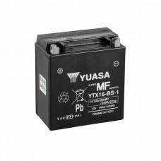 Yuasa YTX16-BS-1 MF AGM 14,7Ah 230A L+