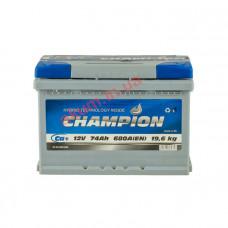 Champion 74Ah EN680A R+