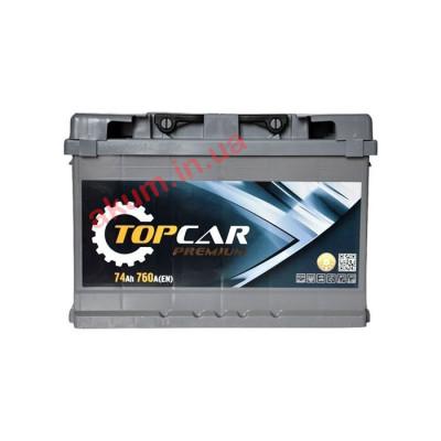 Аккумулятор Top Car Premium 74Ah EN 760A R+