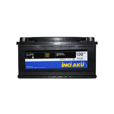 Аккумулятор INCI AKU SuprA 100Ah EN 850 R+ (низк.)