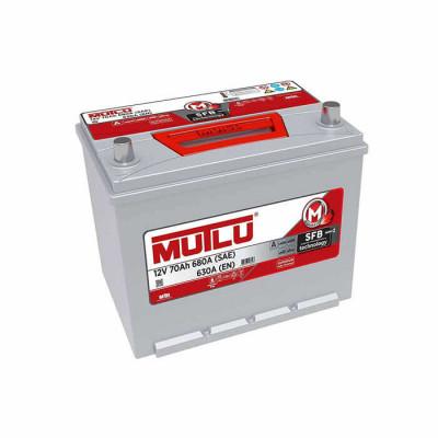 Аккумулятор Mutlu SFB-2 70Ah EN 630A R+ Asia(ниж.креп.)