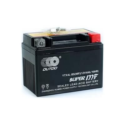 Мото аккумулятор Outdo 4Ah-12V YTX4L-BS MF (FA) R+