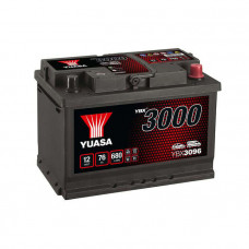 Yuasa YBX 3096 76Ah EN 680A R+