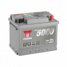 Yuasa YBX 5027 65Ah EN 640A R+