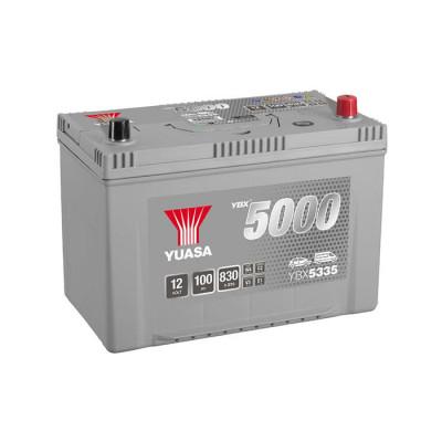 Аккумулятор Yuasa YBX 5335 100Ah EN 830A R+ Asia