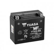 Yuasa YTX20-BS MF AGM 18,9Ah 270A L+