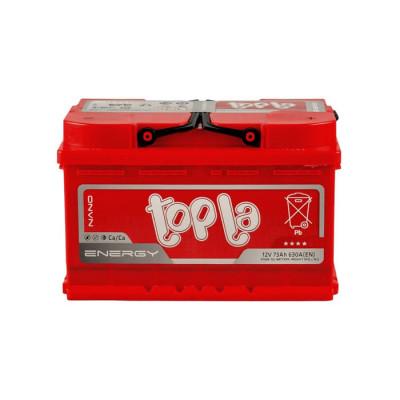 Аккумулятор Topla Energy 73Ah EN 630A R+(низк.)