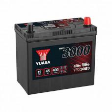 Yuasa YBX 3053 45Ah EN 400A R+ Asia