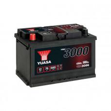 Yuasa YBX 3086 76Ah EN 680A L+