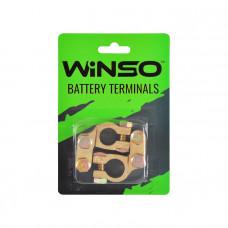 Клеммы акумуляторные Winso 2шт. латунь, вес 190 гр.