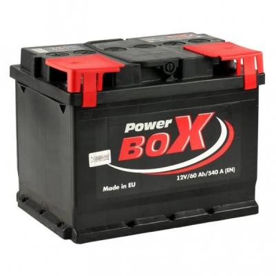 Аккумулятор Power Box 60Ah EN 540A R+