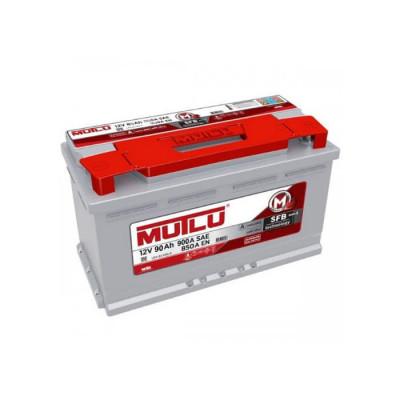 Аккумулятор Mutlu SFB-3 90Ah EN 850A R+(корпус 80)