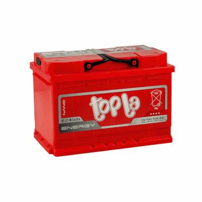 Аккумулятор Topla Energy 75Ah EN 750A R+