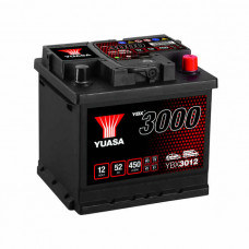 Yuasa YBX 3012 52Ah EN 450A R+