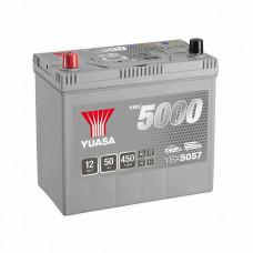 Yuasa YBX 5057 50Ah EN 450A L+ Asia