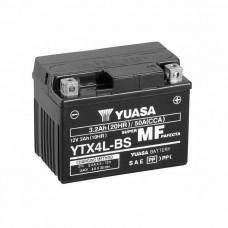 Yuasa YTX4L-BS MF AGM 3,2Ah 50A R+