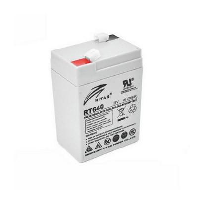 Аккумулятор Ritar Agm RT640, Gray 6V 4Ah Q20