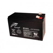 Ritar Agm RT1272B, Black 12V 7.2Ah Q10